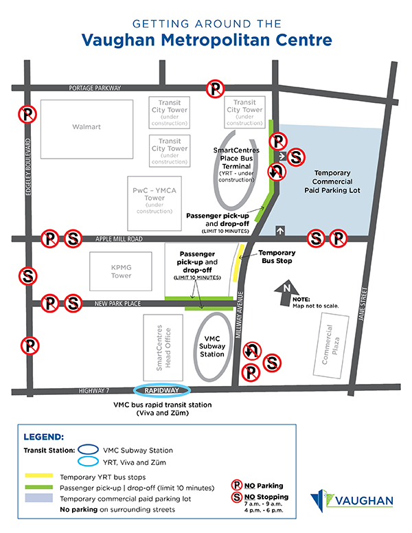 VMC Parking Map