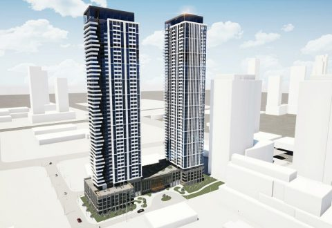Rendering of 216 and 220 Doughton Road