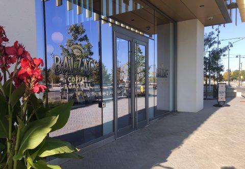 Balzak's Coffee storefront in the Vaughan Metropolitan Centre